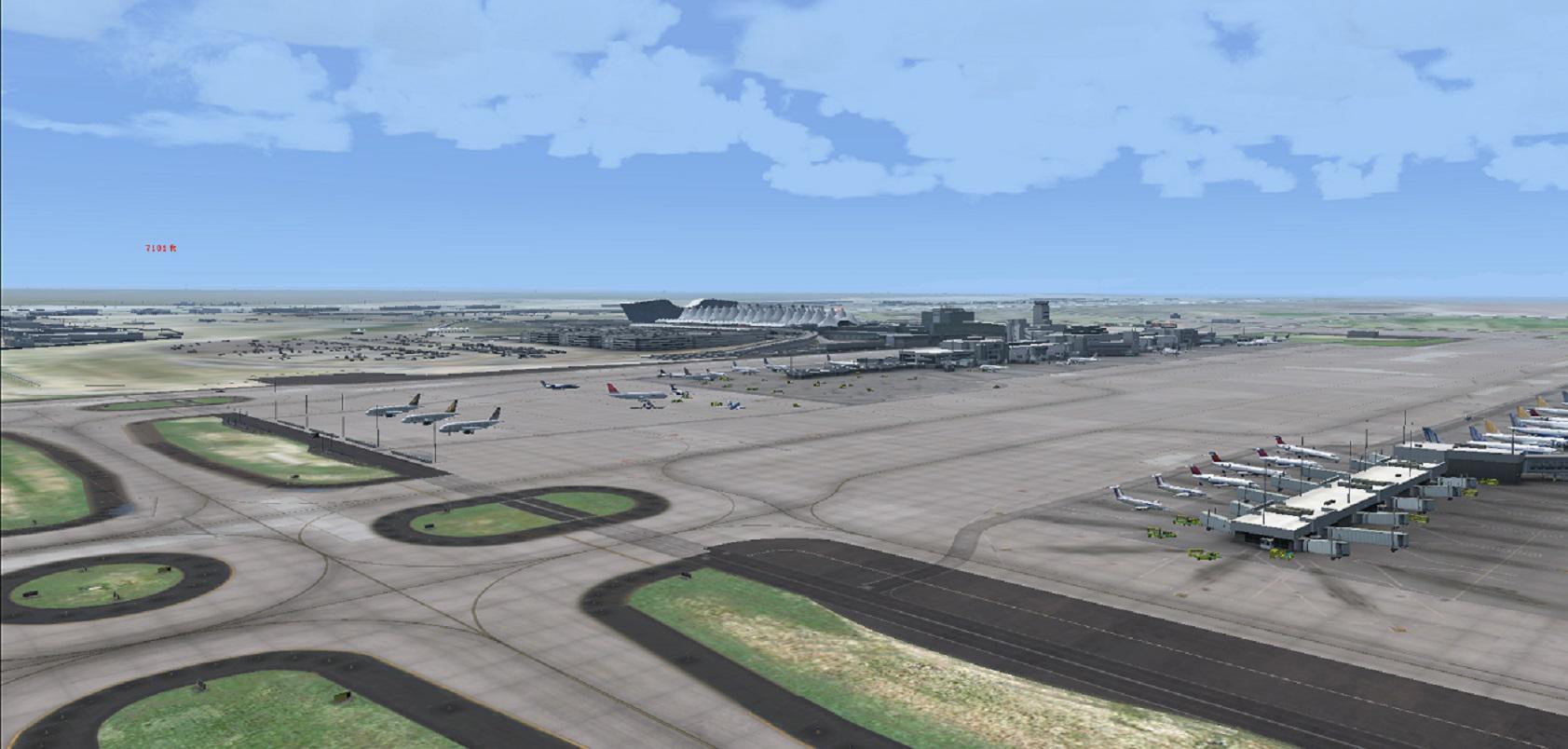 Flightbeam KDEN HD and Wilco/Feelthere CRJ-900 - Sim Global